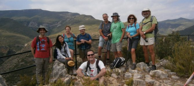 Excursión Sot de Chera – Baño. 3 Julio 2016