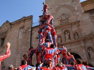 Muixeranga de Algemesi (activitat cultural) @ Plaça d'Espanya | València | Comunidad Valenciana | Espanya